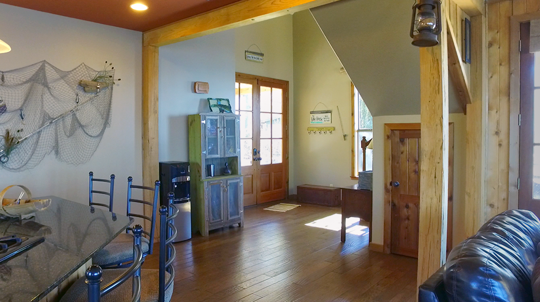 Entryway from Living Area  - Toledo Bend Lakehouse