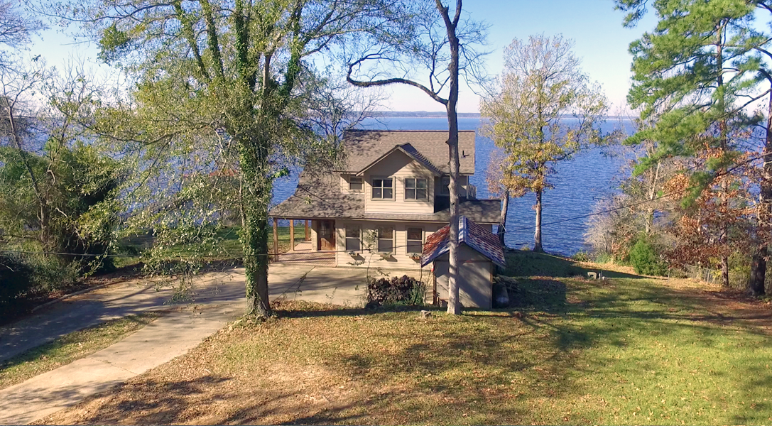 Front Aerial View - Toledo Bend Lakehouse