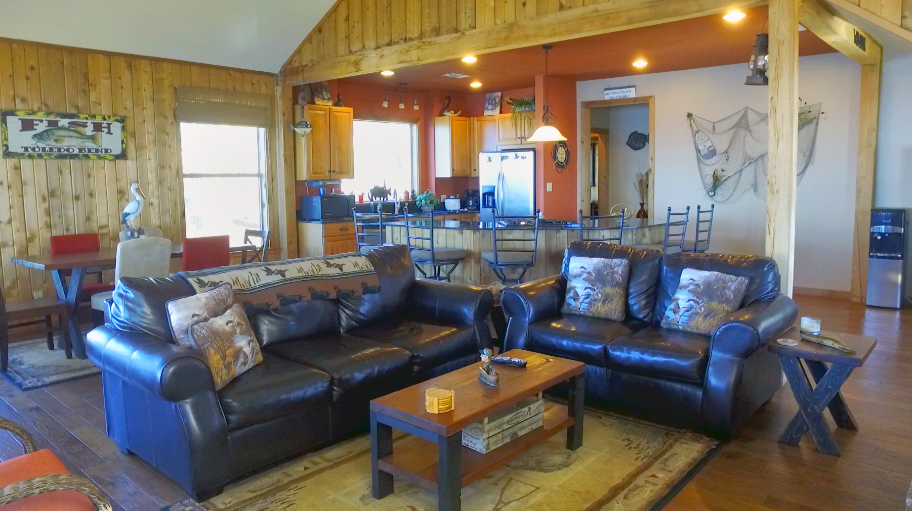 Living Area  - Toledo Bend Lakehouse