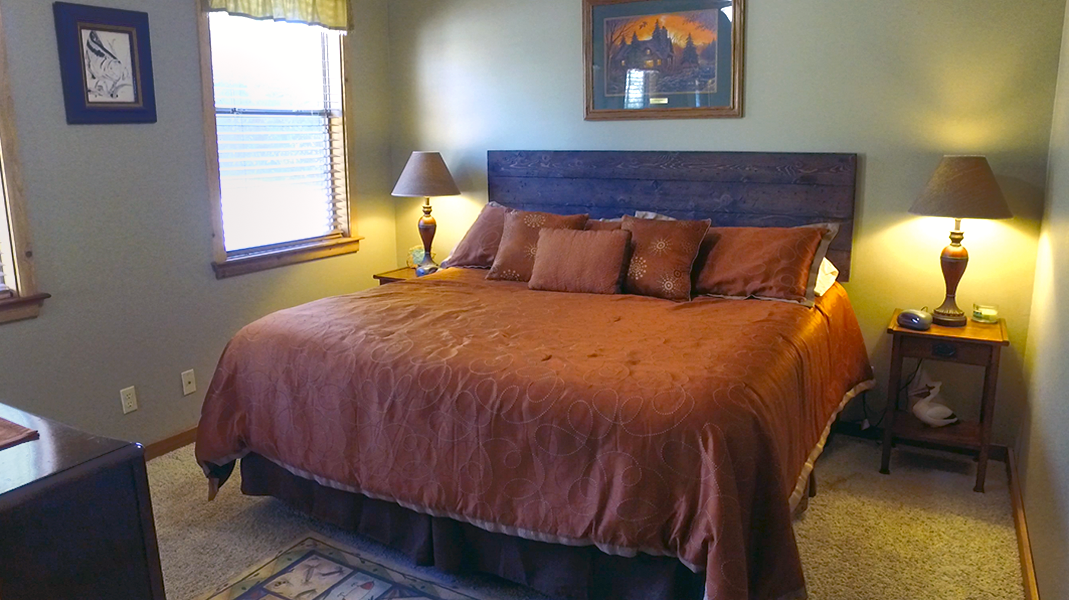 Master Bedroom  - Toledo Bend Lakehouse