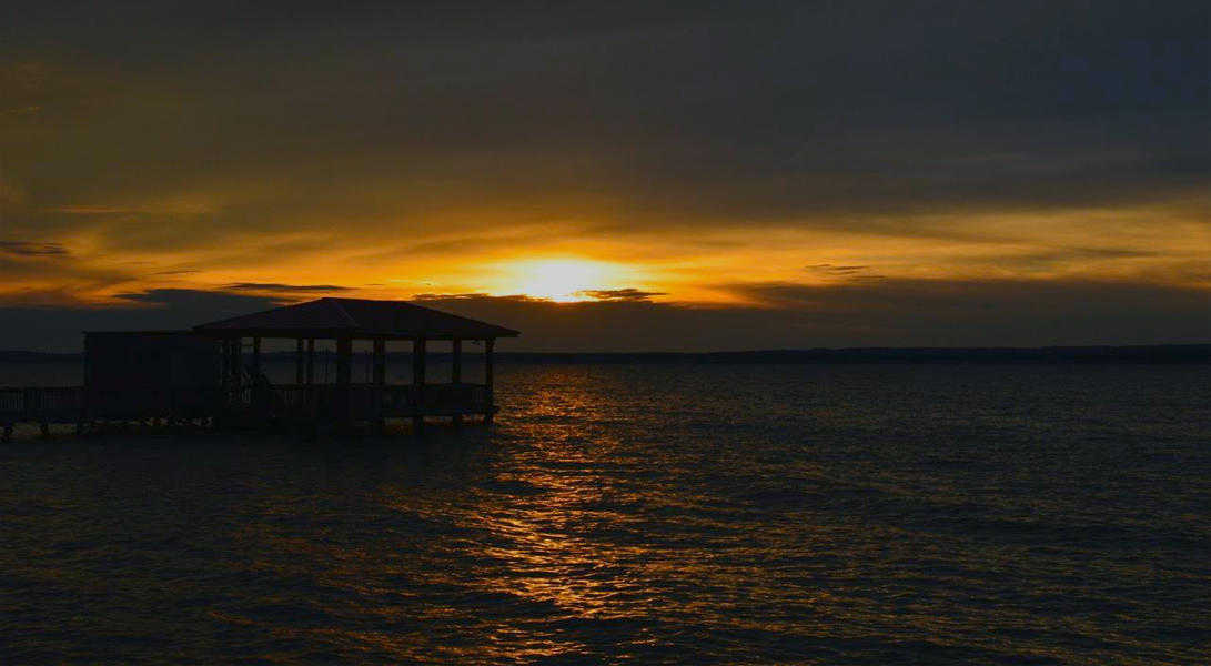 Sunset from Pier - Toledo Bend Lakehouse